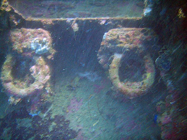 SS Yongala  September 2009 Toilets