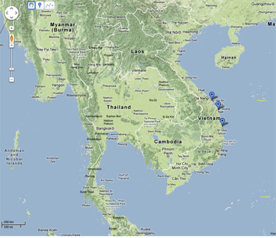 Vietnam Maritime Archaeology Project Center Ports Page